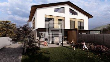 Foto 3 de Mitad de la parcela urbanizable para próxima construcción de vivienda bifamiliar en Urrategi Bidea