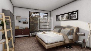 Foto 4 de Mitad de la parcela urbanizable para próxima construcción de vivienda bifamiliar en Urrategi Bidea