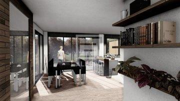 Foto 6 de Mitad de la parcela urbanizable para próxima construcción de vivienda bifamiliar en Urrategi Bidea